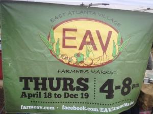East Atlanta Farmer's Market--just down the street!