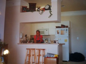 My Lawrenceville apartment...July 2003.